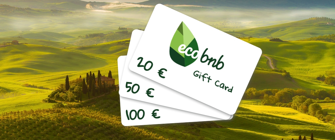 gift card digitale: come utilizzare la tua carta regalo su Ecobnb
