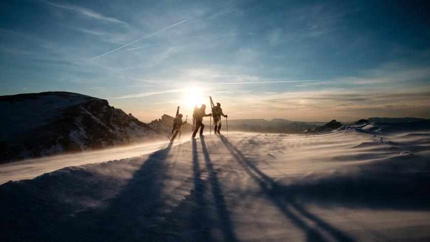 Sciare in treno: 5 mete per la tua vacanza senza auto