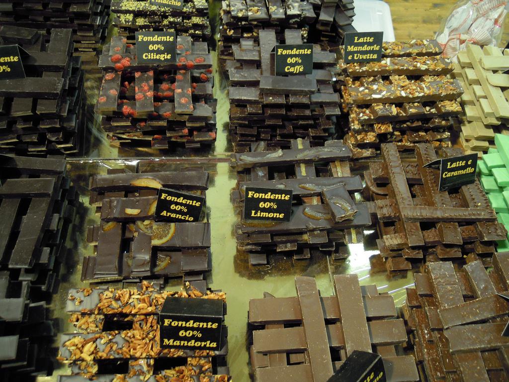 Vari tipi di cioccolato a CioccolandoVi