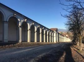 portici che portano al Santuario di Monte Berico