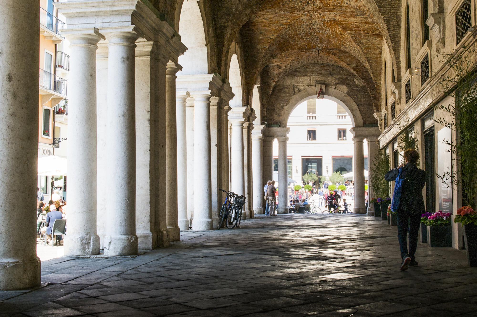 Portico della Basilica Palladiana a Vicenza