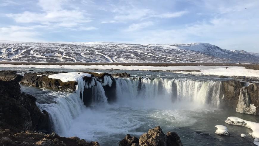 cascata di Godafoss, Islanda