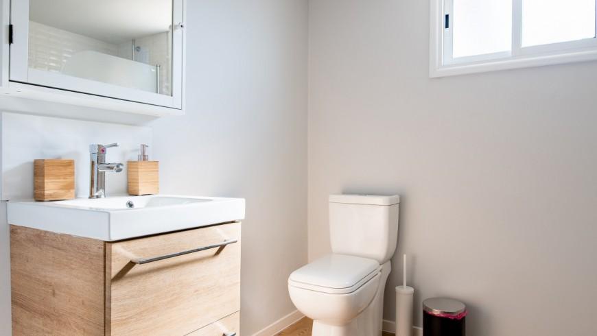 bagno con compostaggio in una tiny house