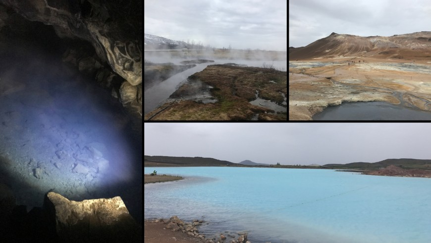 grotta Grjotagja, zone geotermali, lago di Myvatn, Blue lake. Ph. Sara Pescetta