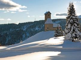 Monte San Vigilio, dove sciare senz'auto in alto adige