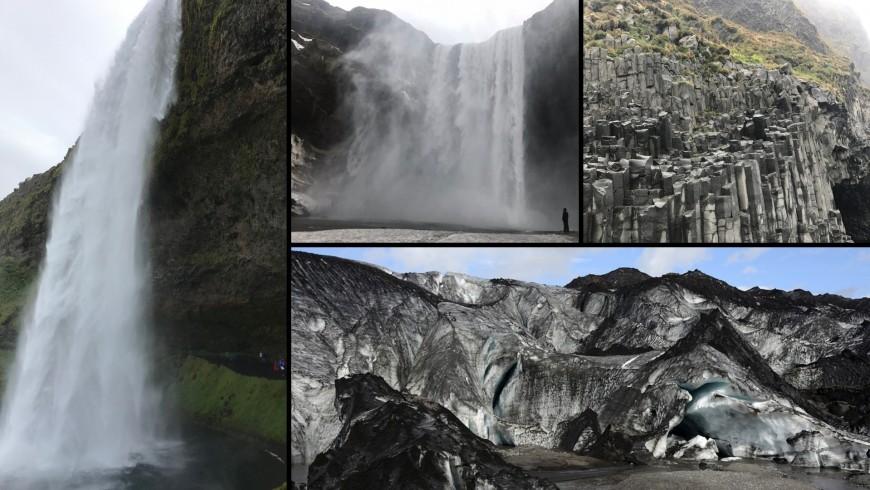 cascata di Skogafoss, Seljalandsfoss, Reynisfjara, ghiacciaio Solheimajokull. ph. Alessia Casalaina