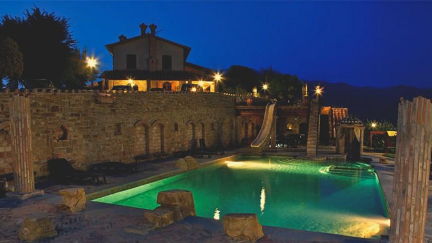 Villa Dama: agriturismo sulle colline di Gubbio