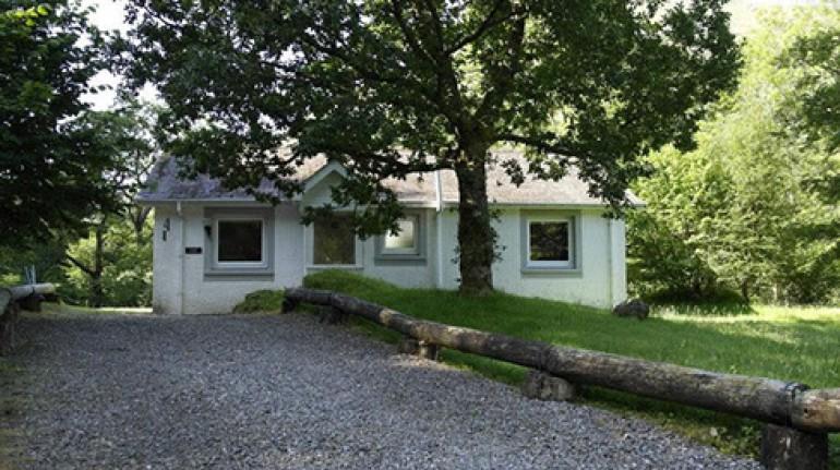 Glencoe Cottages, Highland Glen, Scozia