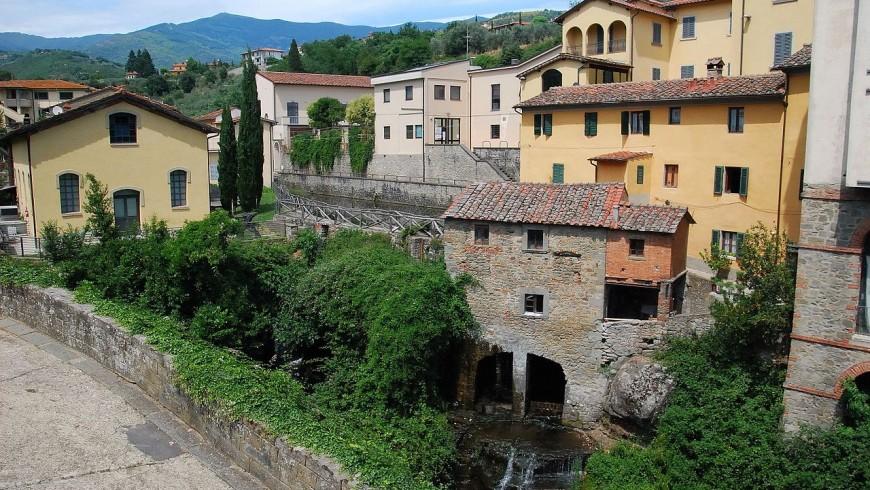 Loro Ciuffenna, borgo di Valdarno Superiore
