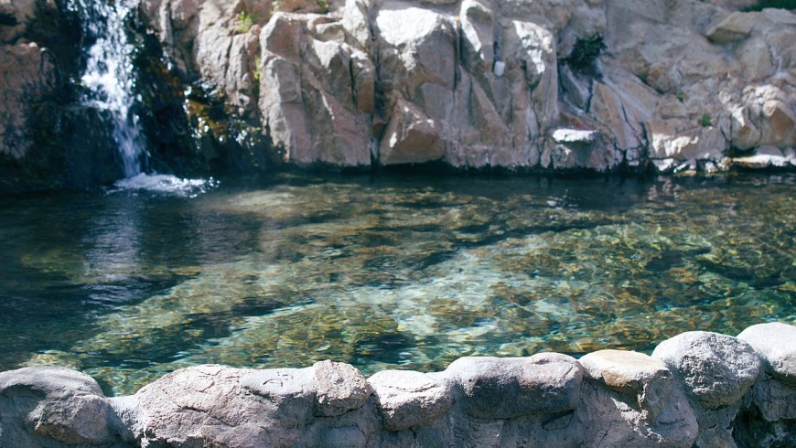 Deep Creek Hot Springs, California