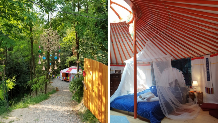 yurta eco-friendly a Grassino Torinese, Torino