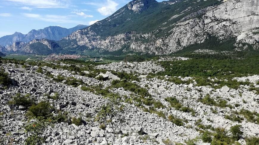 Il Biotopo delle Marocche di Dro, valle del Sarca, Trentino