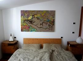 Casa Filippo a Dro, camera da letto