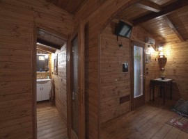 Il bagno visto dalla camera
