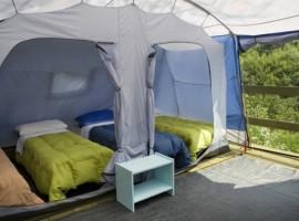 L'eco-campeggio del Centro Anidra, antico mulino, oggi Ecobnb in Liguria