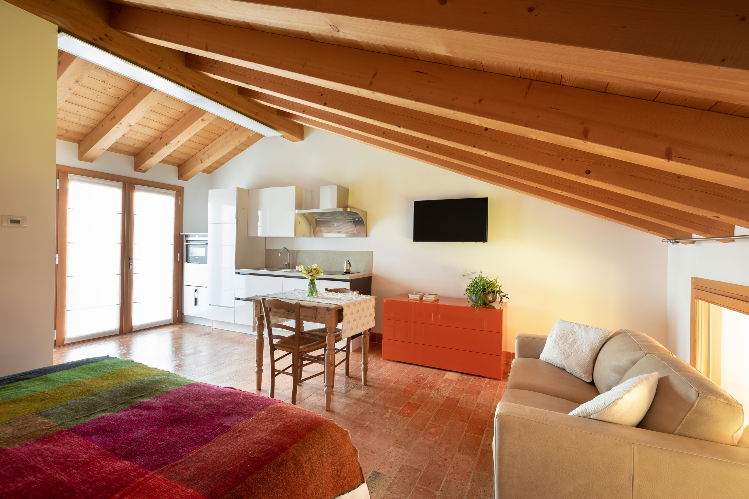 Casa Fiorindo: spazio interno moderno e confortevole