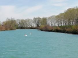 paesaggio della laguna vicino a casa fiorindo