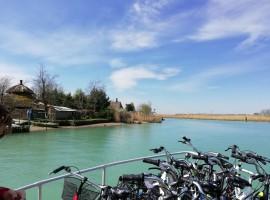 giro in barca + bici sul Lemene