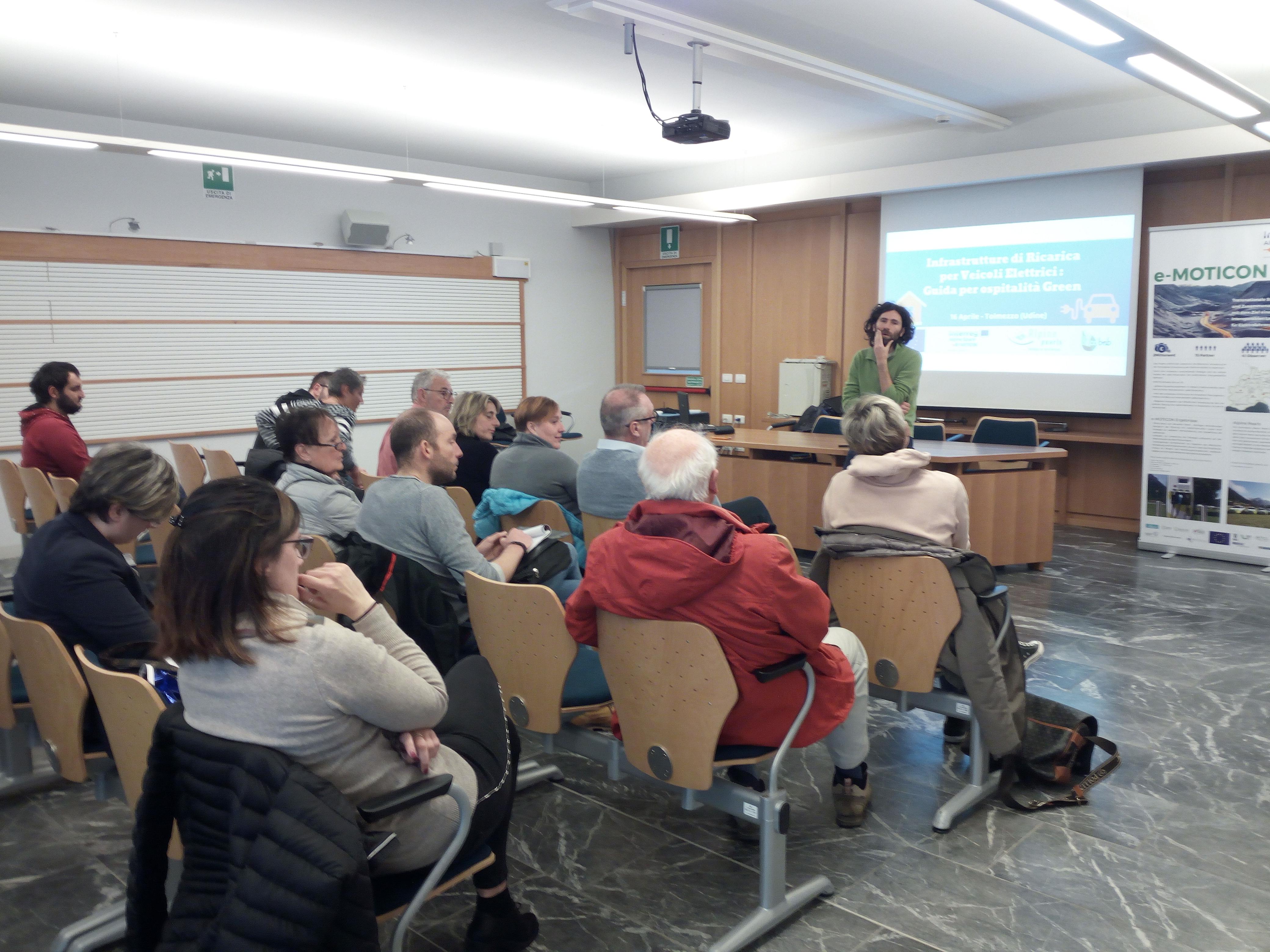 Tolmezzo, workshop di ecobnb
