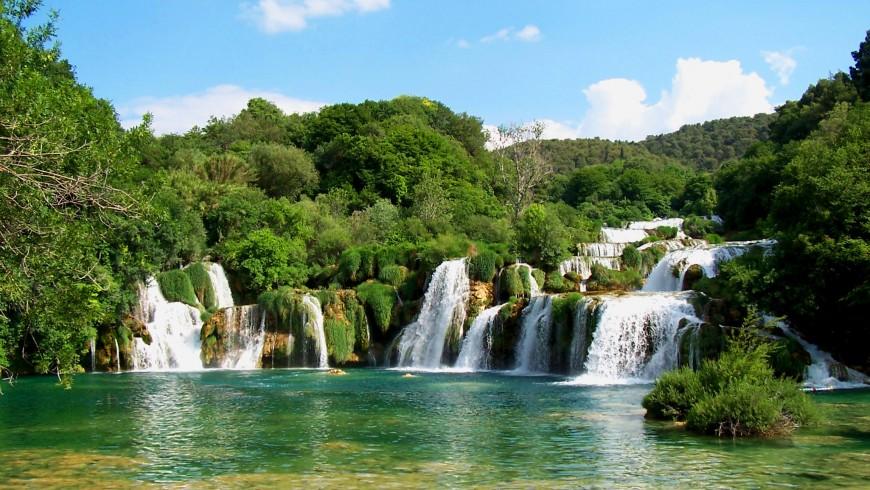 Parco Naturale di Krka, la cascata