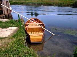 Pantana (tipica imbarcazione di palude) sul Sile, foto di Francesco Ramponi