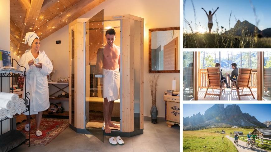 Les Gomines, Natural Living nelle Dolomiti