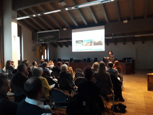 workshop nel Parco Adamello Brenta