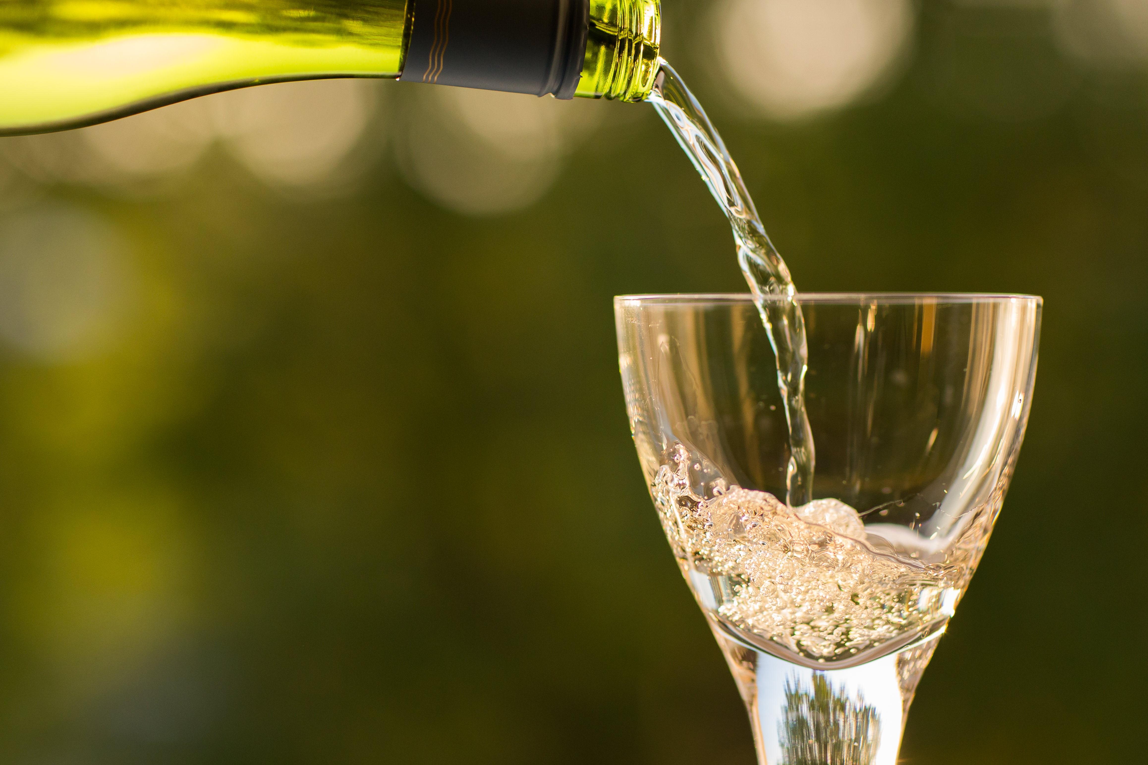 vino locale nella campagna vicino a casa Fiorindo