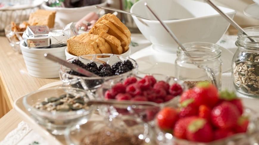 colazione al bnb Les Gomines