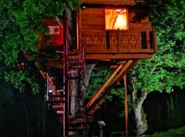 La casetta di notte