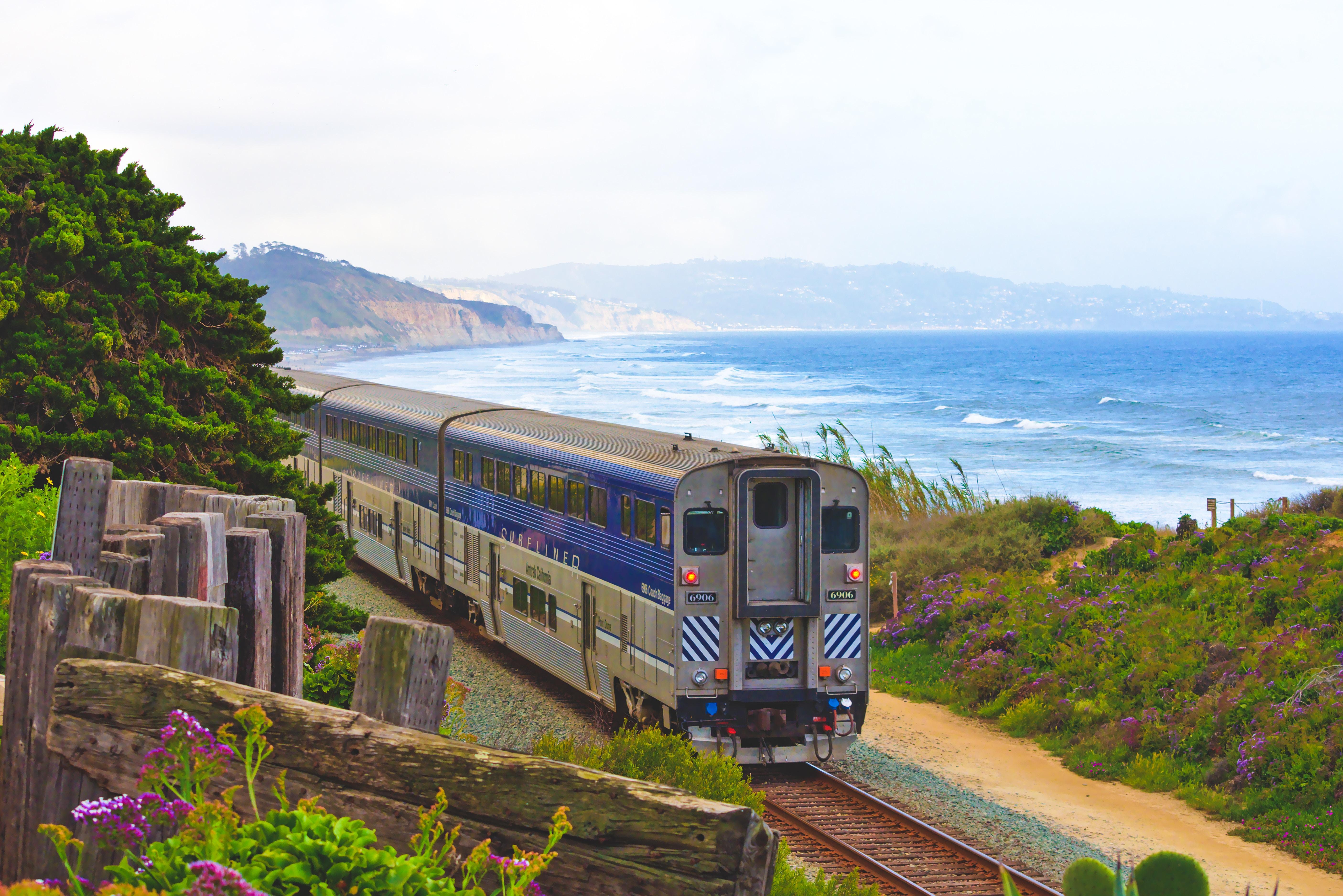 Viaggiare in treno è sostenibile