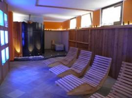 centro benessere dell'hotel l'Artisin a Limone Piemonte