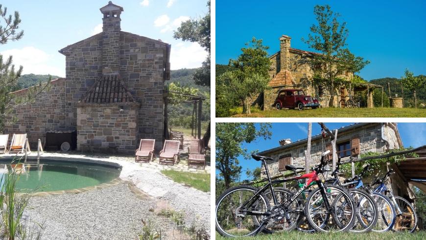 Istria autentica, bio-piscina, natura e biciclette gratuite