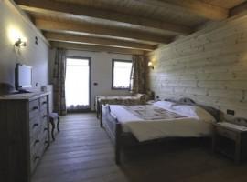 Camera dell'hotel l'Artisin, Limone Piemonte