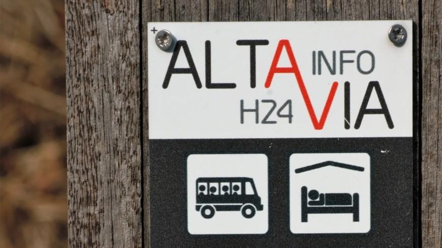 Alta Via Liguria, la segnaletica