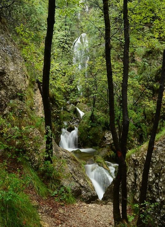 La cascata del Valimpach