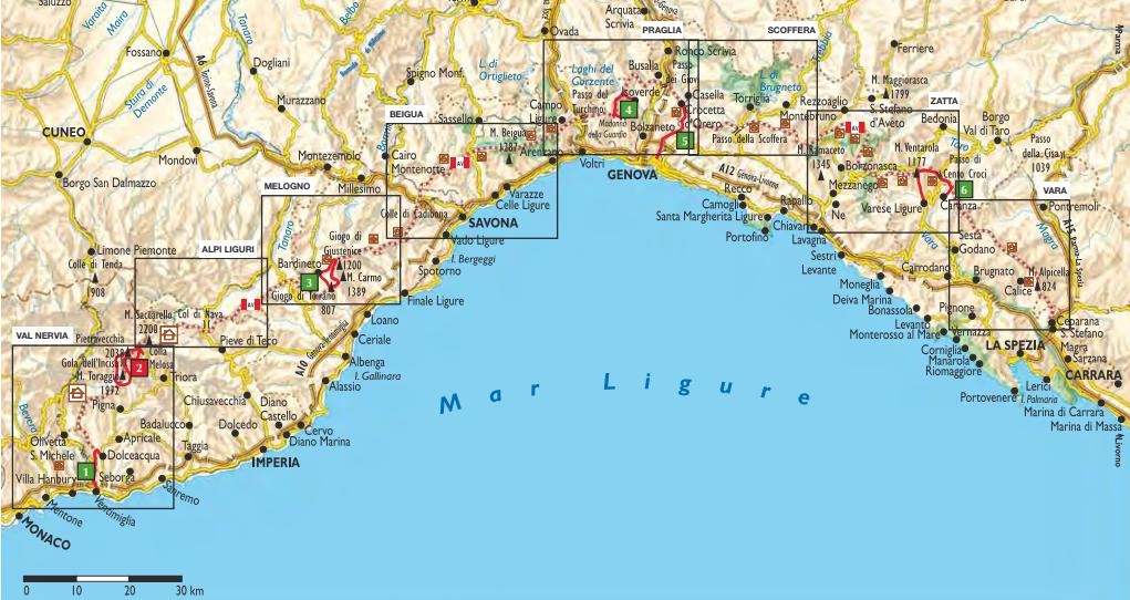 Cartina Turistica Liguria.Alta Via Dei Monti Liguri Una Terra Vista Dall Alto Ecobnb