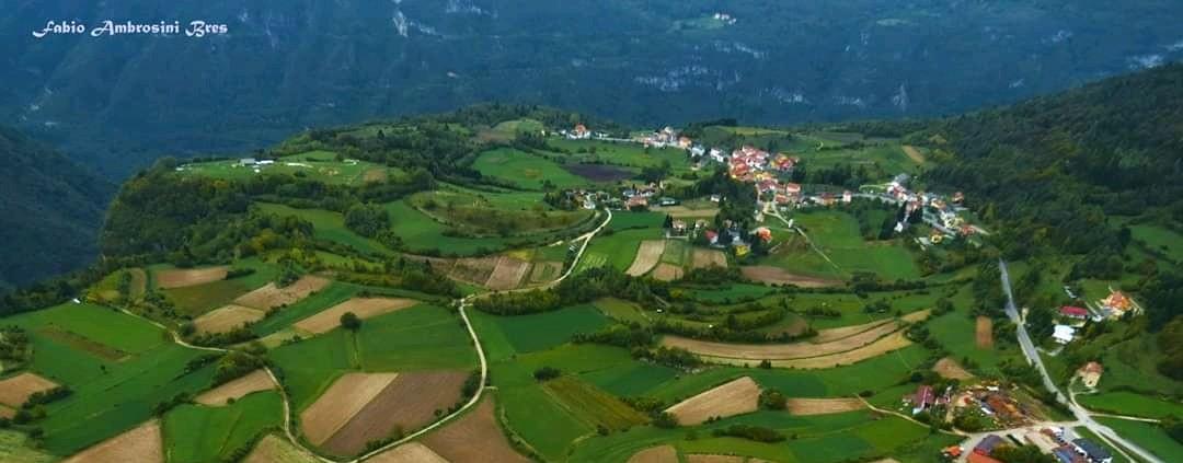 Paesaggio dell'Altopiano dei Sette Comuni vicino a Rotzo