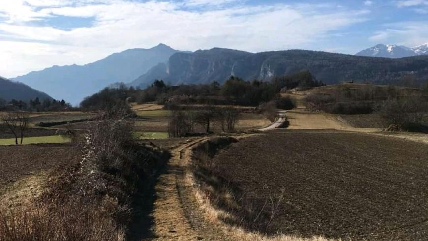 Itinerario a piedi sull'altopiano dei sette comuni