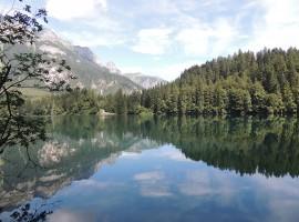 Il riflesso delle montagne nel lago di Tovel