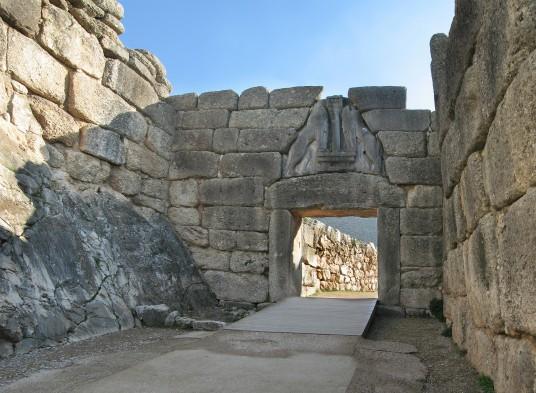 Porta dei Leoni, Micene