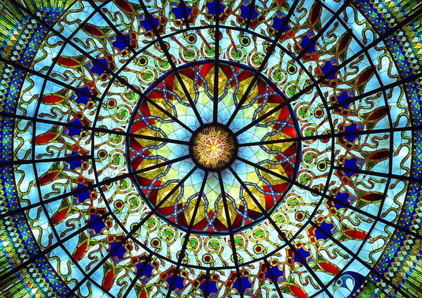 Sala degli Specchi, Cupola, templi di Damanhur