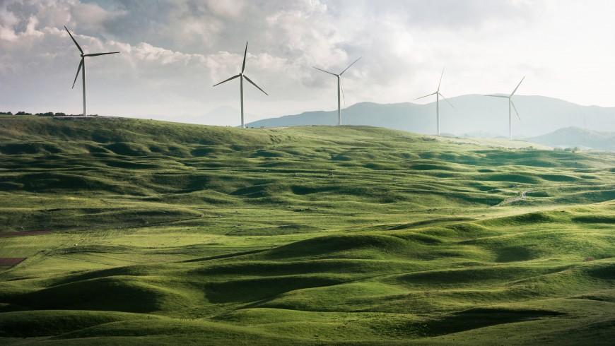 energia pulita da eolico