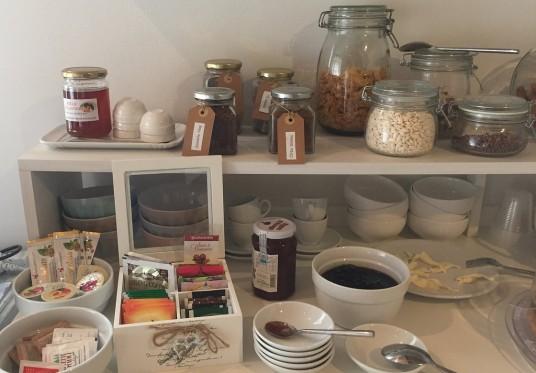 BNB hemmara, colazione a base di prodotti locali
