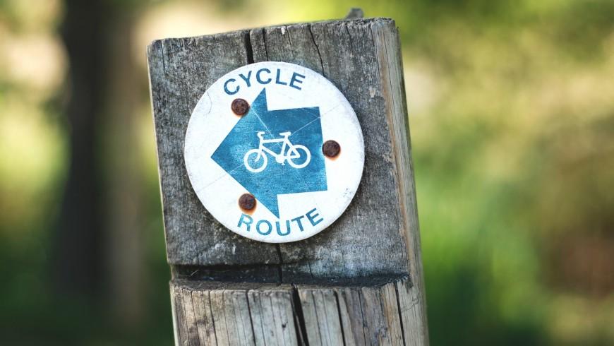 pista ciclabile da percorrere in e-bike o moutain bike