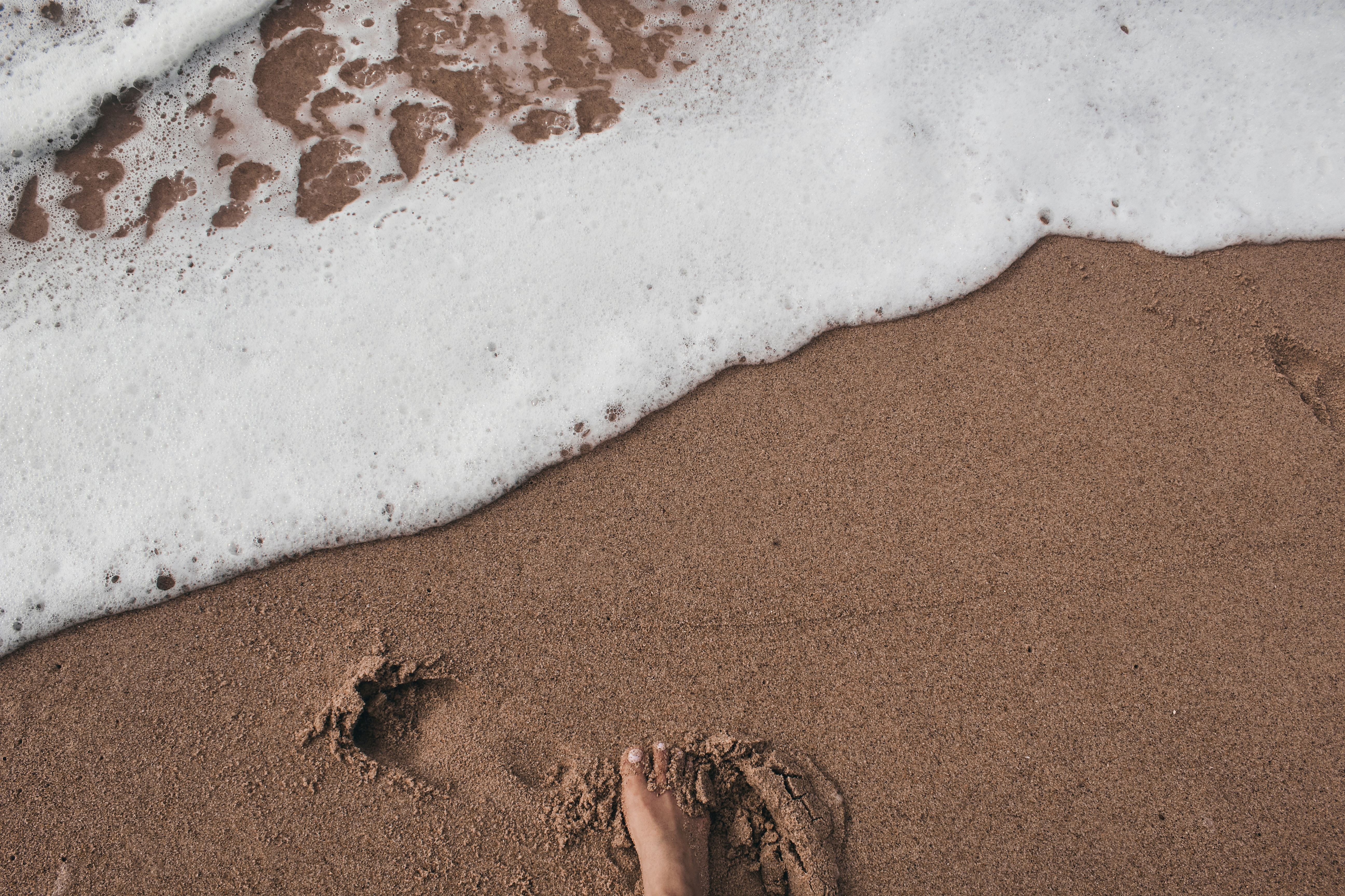 Impronta sulla Sabbia. Tenere in considerazione l'impronta ecologica dei nostri viaggi è fondamentale