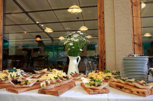 buffet hotel ribno slovenia