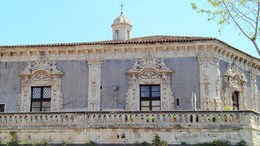 Facciata di Palazzo Biscari