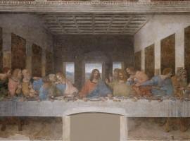 Quadro Ultima Cena di Leonardo da Vinci