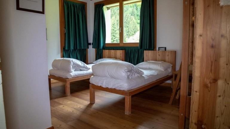 casa natura villa santi, letti